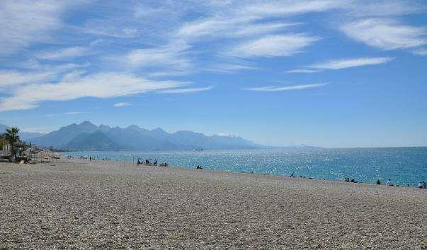 Пляж Коньяалті
