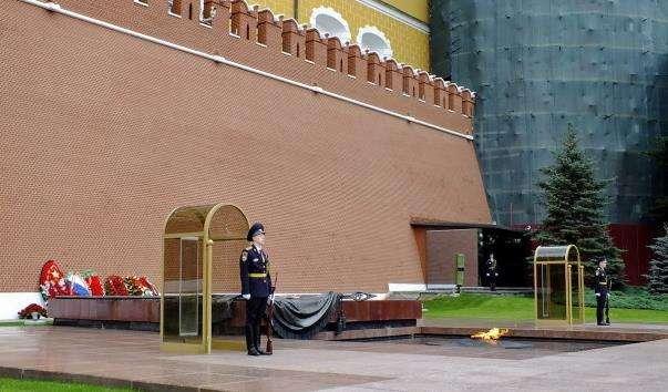 Пост №1 біля Кремлівської стіни