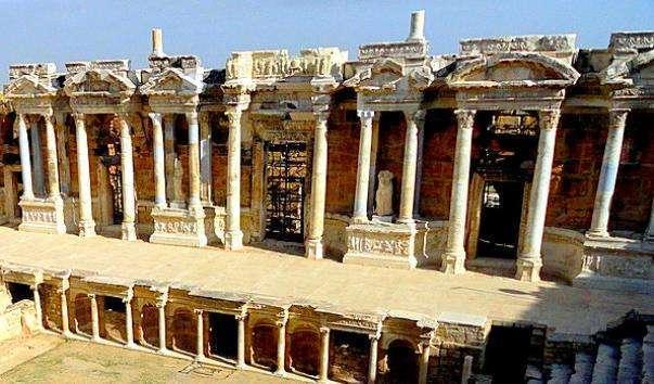 Амфітеатр в Памуккале