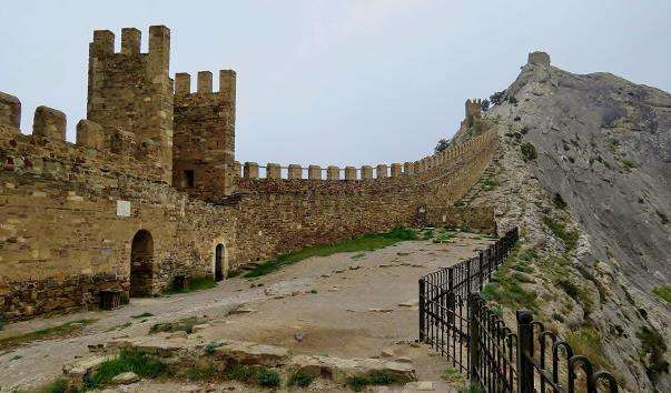 Генуезька фортеця в Судаку
