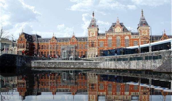 Центральний вокзал Амстердама