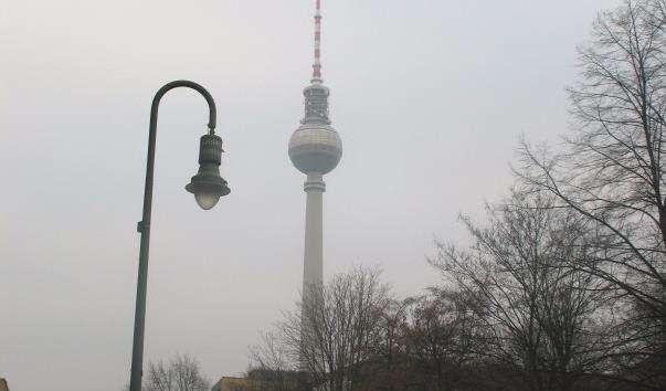 Телевежа Berliner Fernsehturm