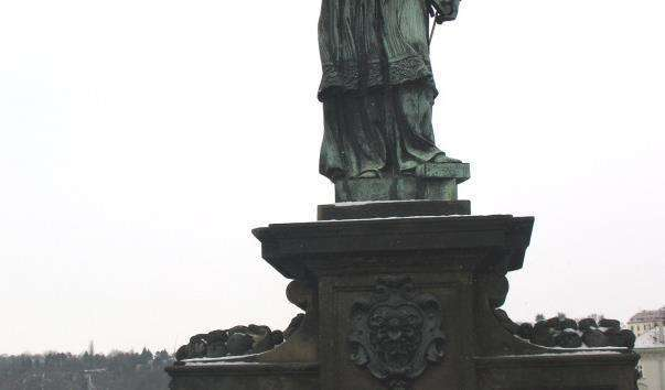 Памятник Яну Непомуцькому
