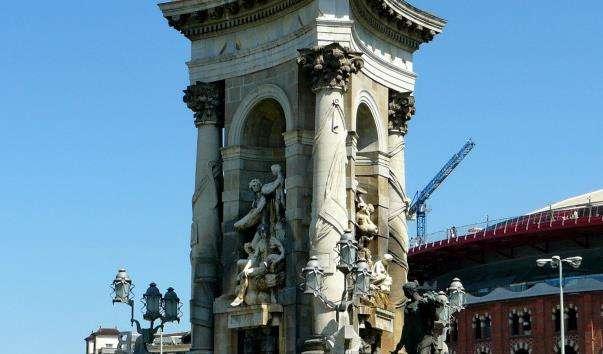 Площа Іспанії в Барселоні