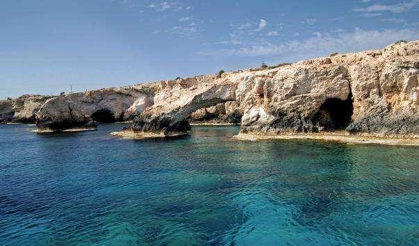 Морські печери-гроти Айя-Напи
