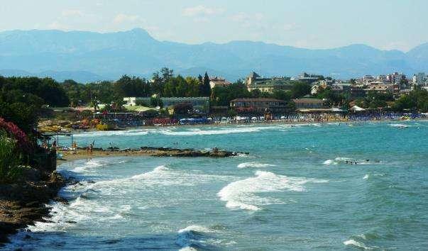 Пляжі Сіде