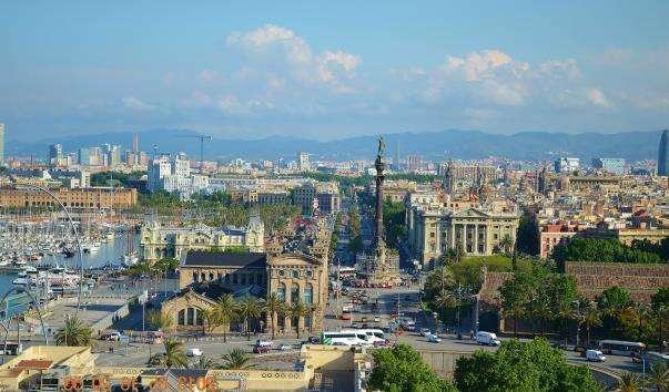 Набережна Барселони