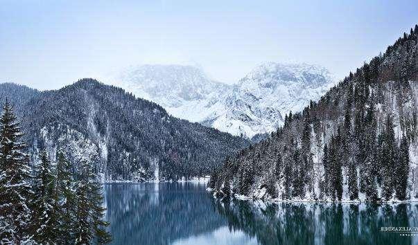 Озеро Ріца
