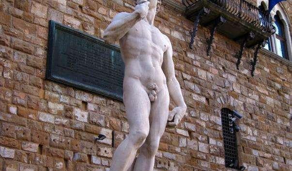 Статуя Давида на площі пьяцца делла Синьйора