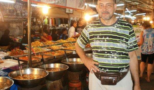 Нічний ринок Паттайї