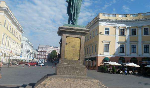 Памятник Дюку де Рішельє
