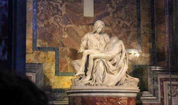 Скульптурна композиція Пєта