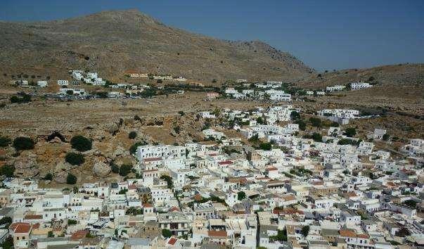 Стародавнє місто Ліндос