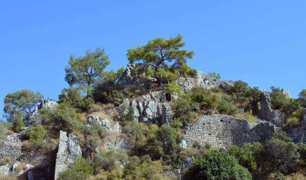 Античний місто Олімпос