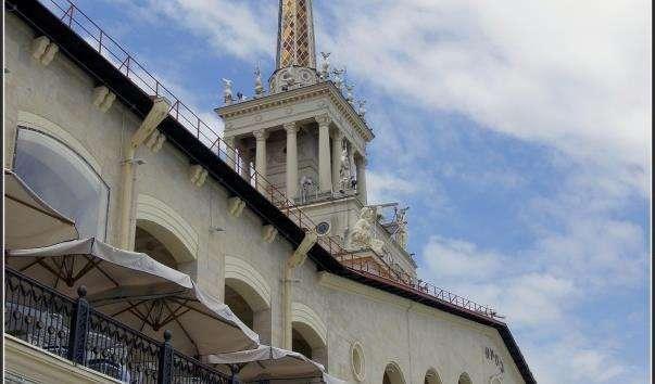 Морський вокзал Сочі