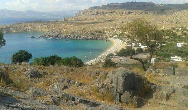 Пляжі Ліндоса