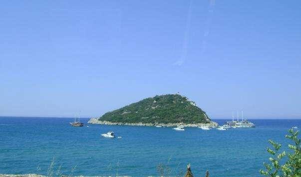 Черепашачий острів Дальян