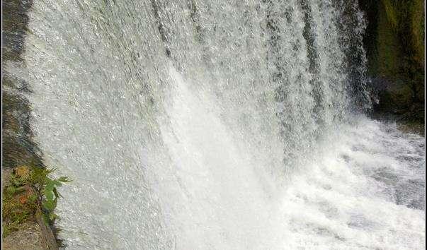 Новоафонский водоспад