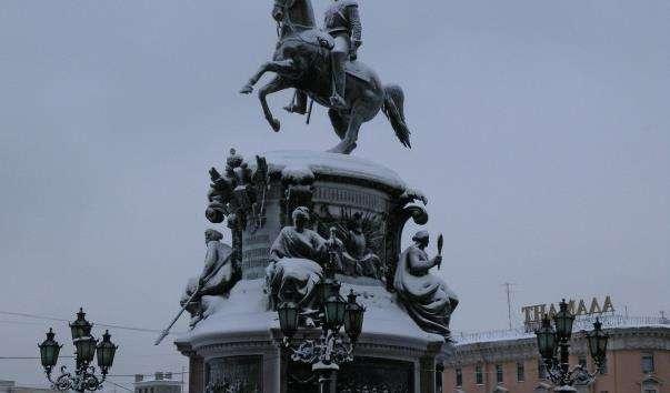 Памятник Миколі I
