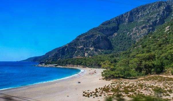 Пляж Олюденіз