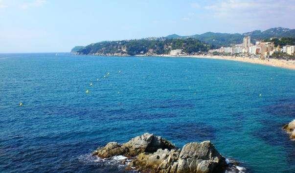 Пляжі Ллорет-де-Мар