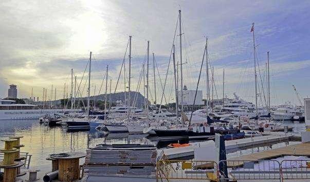 Набережна Олімпійського порту