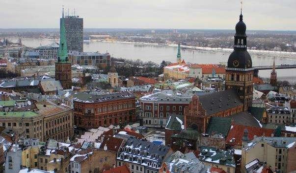 Старе місто Риги
