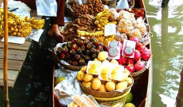 Плавучий ринок Канчанбури